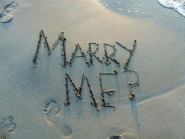 結婚してください