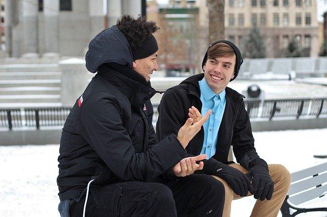 男性の会話